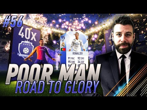 EPIC TOTGS and ELITE FUT CHAMPIONS REWARDS PACK OPENING - Poor Man RTG #56 - FIFA 18 Ultimate Team