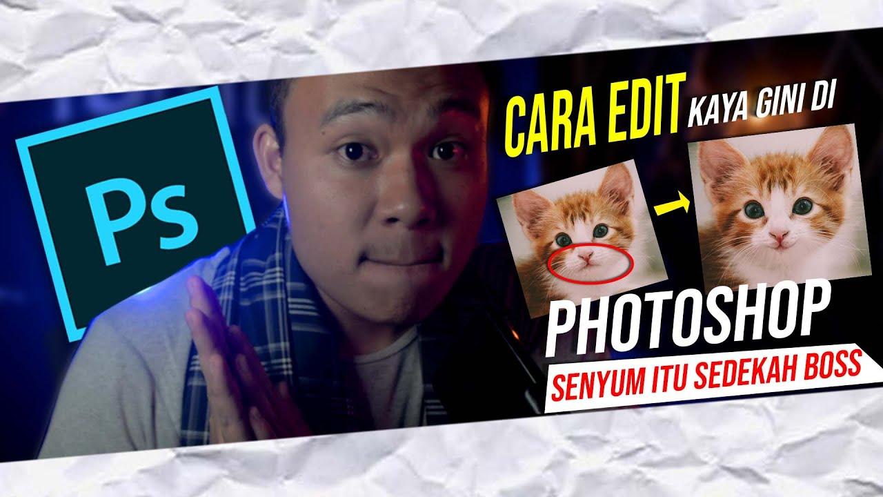 Cara Edit Foto Senyum di Photoshop CS6 - Liquify Tutorial ...