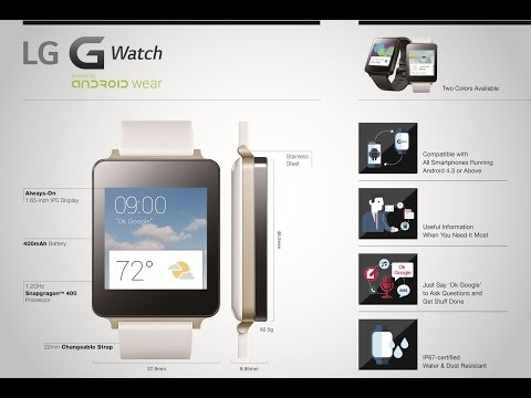 LG G Watch Product Movie (Official)
