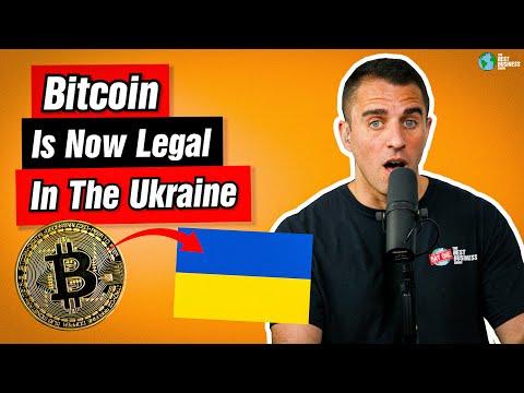 Ukraine JUST Legalized Bitcoin