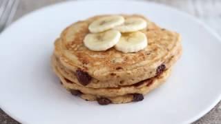Whole Wheat Banana Bread Pancakes