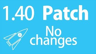Rocket Science - Patch 1.40 Report (No changes)