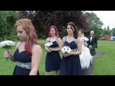 Susan & Ben's Same Day Edit Wedding Film at Holiday Inn, Bolton