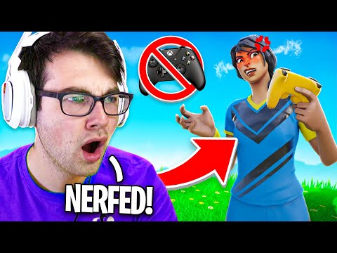 Fortnite Is *NERFING* Aim Assist On PC... (NEW UPDATE)