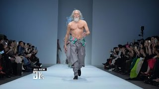 80-Year-Old Runway Model!