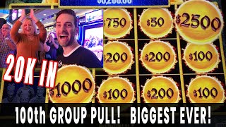 💰 $20,000 GROUP PULL 🎉 Celebrating #100 🤑 $1000/person on Dragon Link 🐲