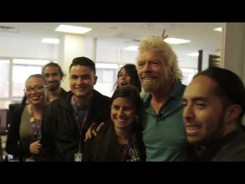 OMG!!! El jefe nos cayó de sorpresa – Richard Branson en Bogotá