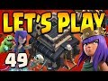 Gambar cover KING'S ASLEEP AGAIN!!  TH9 Let's Play ep49 | Clash of Clans