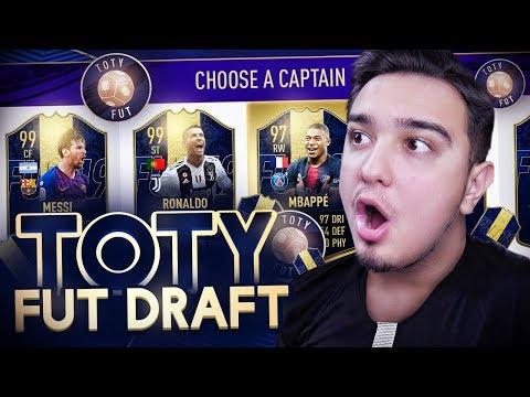 FIFA 19 - ТОТИ ФУТ ДРАФТ / TOTY FUT DRAFT
