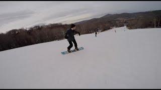 Snowboarding at Sugar Mountain!