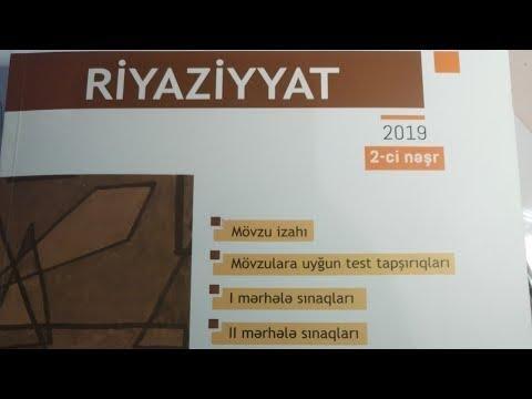 Tənliklər sistemi 27-49. Riyaziyyat 2019. 9-cu sinif BURAXILIŞ İMTAHANINA hazırlaşanlar üçün.
