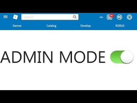How To Get The Roblox Admin Control Panel Working 2017 Youtube