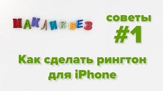 Как сделать рингтон для iPhone (МакЛикбез Советы)
