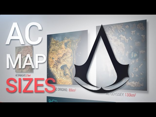 How Big Is The Map In Assassin S Creed Odyssey Does Size Matter