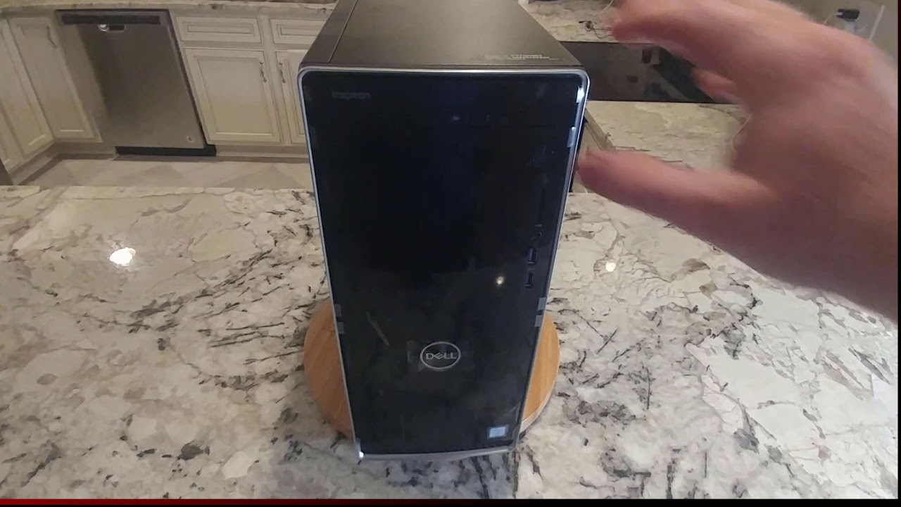 Dell Inspiron 3670 desktop computer unboxing, I5-8400, vostro, eBay deal,  overview, not a review
