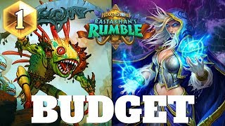 Hearthstone BUDGET MAGE for easy Legend! Hearthstone Rastakhan#39s Rumble Budget Decks #3 2018
