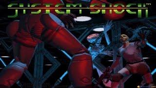 System Shock gameplay (PC Game, 1994)