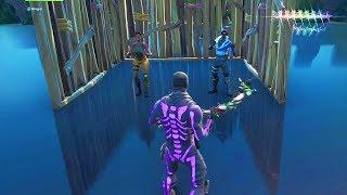 Haters se vanter de la peau exclusive et de sortir mon Skull Trooper Purple - Fortnite