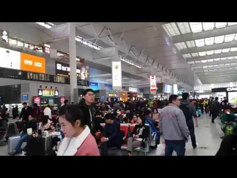 Stasiun Kereta Cepat Shanghai Railway Station