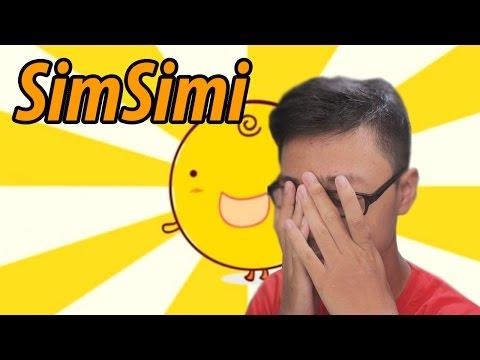 STRESS BERAT CHAT SAMA DIA - SimSimi Indonesia