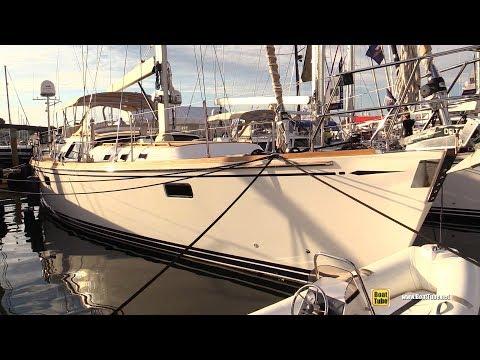 2015 Hylas 70 Sailing Yacht Independence - Deck, Interior Walkaround - 2017 Annapolis Boat Show