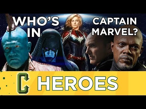 Who Will Be In Captain Marvel?