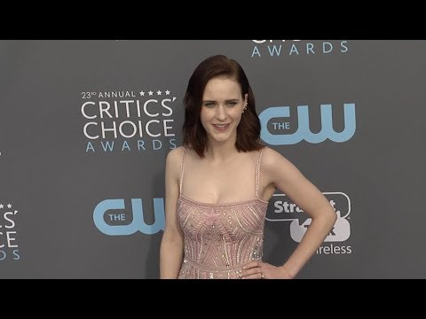 Rachel Brosnahan and Jason Ralph at The 23rd Annual Critics Choice Awards