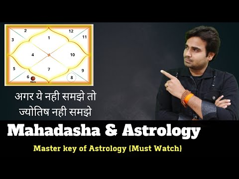 Dasha The Master Key Of Astrology | Importance Of Dasha In Astrology