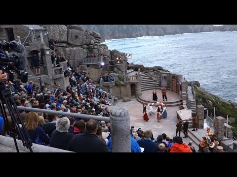 Cornwall's Dramatic Minack Theatre