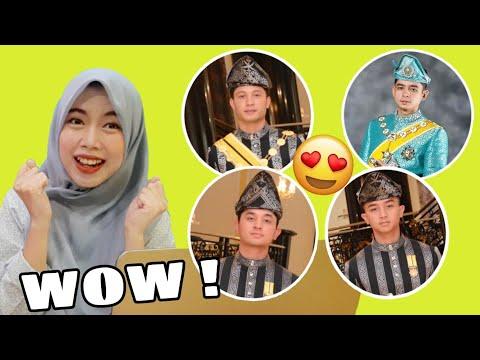 Indonesian Reacts to Pangeran Malaysia 😍 | Pahang Royal Family