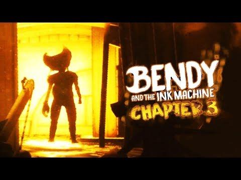 SECRET CHAPTER 4 DEMON BENDY TEASER! | Bendy and the Ink Machine CHAPTER 3 (SECRET ENDING)
