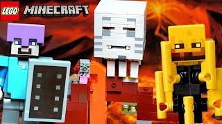 LEGO Minecraft 21143 Портал в Подземелье Обзор на Лего Майнкрафт видео
