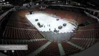 Halifax Metro Centre Arena Timelapse - Hockey, Basketball, Concert