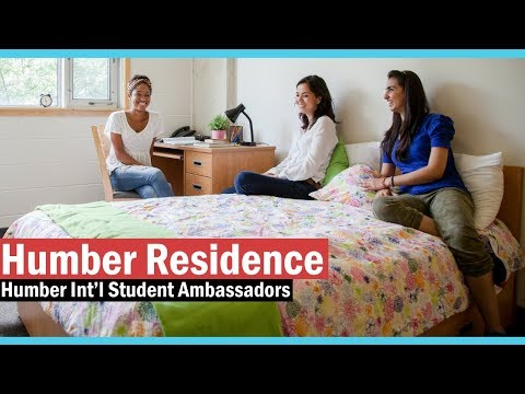 Humber Residence - Humber International Ambassadors Presents