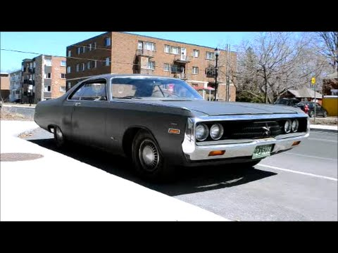 1970 CHRYSLER NEWPORT SIGHTING & START UP