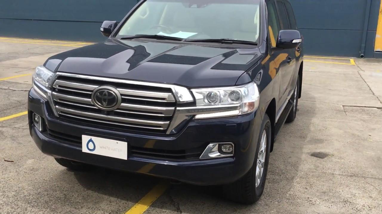 2018 Toyota Land Cruiser 200 Sahara 4 5l V8 Diesel Right Hand Drive
