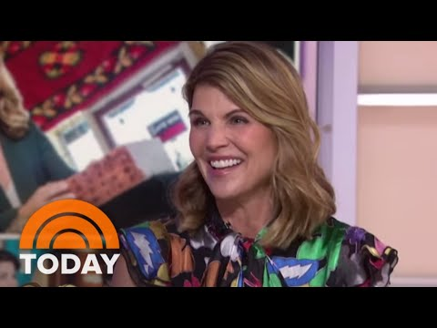 "Lori Loughlin On Detective Role In ""Garage Sale Mysteries"" & 'Fuller House' Emmy Nomination  TODAY"
