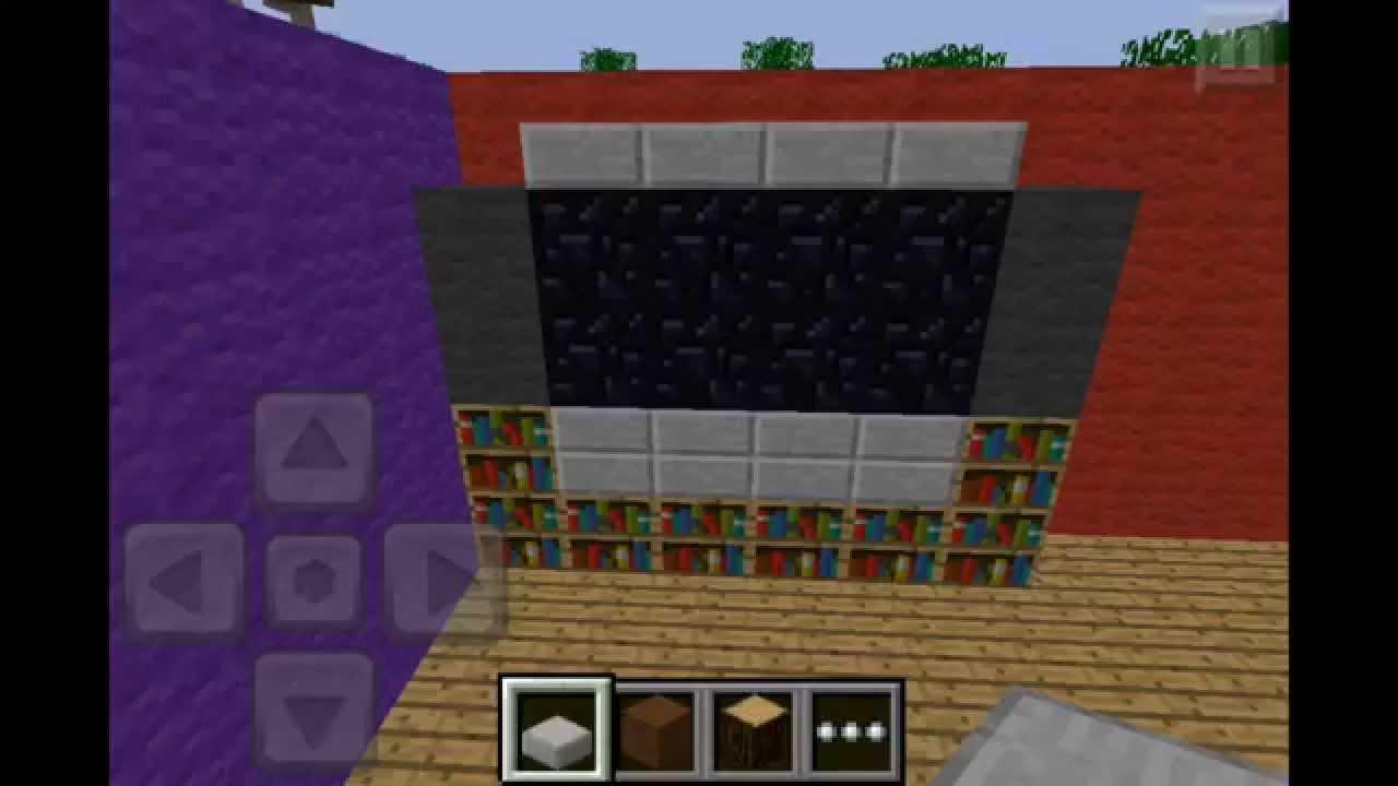 Minecraft Pe Tutorial 6 Living Dining Room You
