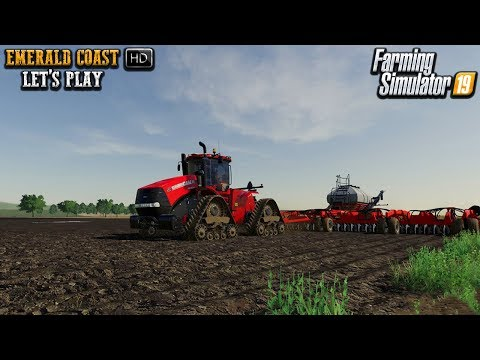 Planting With The Case Rig | FS19 | Emerald Coast Let's Play #4