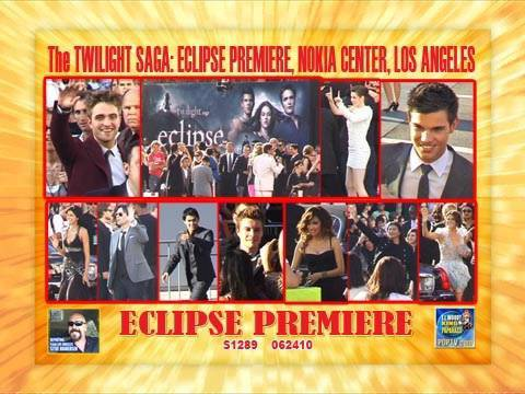 The TWILIGHT SAGA: ECLIPSE Premiere S1289_062410