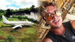 Utforskar Maffias övergivna flygplan på Bali