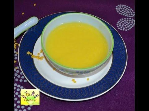 Homemade Baby Food/ Moong Dal Soup/ Dal ka Pani for babies ...