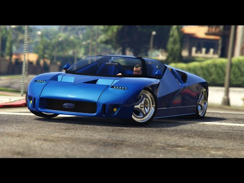 gta v mods showcases ford gt90 add on replace. Black Bedroom Furniture Sets. Home Design Ideas