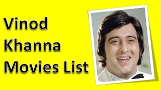 Vinod Khanna Movies List