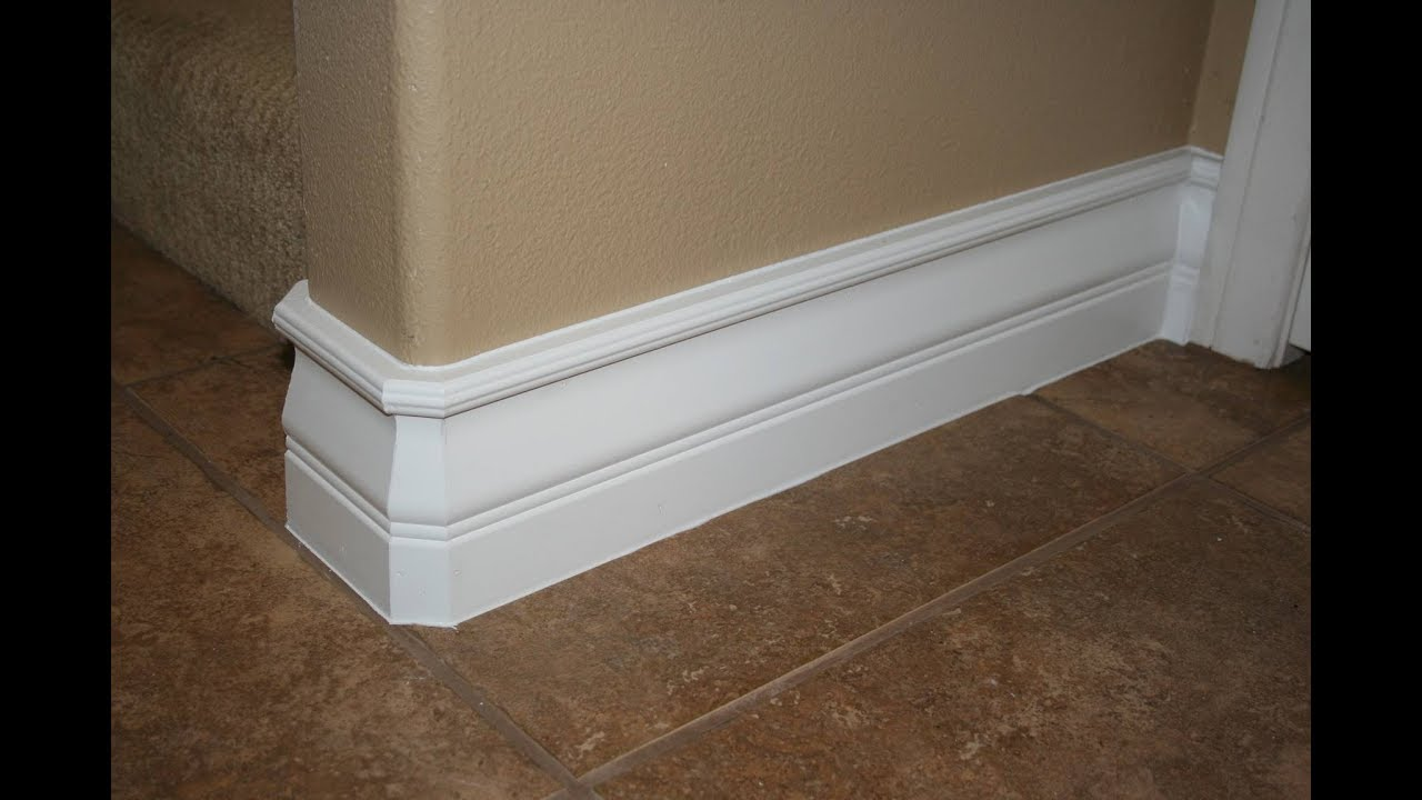 How To Install Baseboard The Fast And Easy Way Youtube