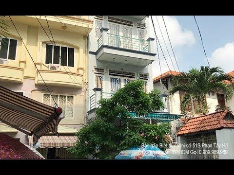 Bán gấp Biệt thự mini số 51S đường Phan Tây Hồ, Q Phú Nhuận. Gọi 0.989.989.989