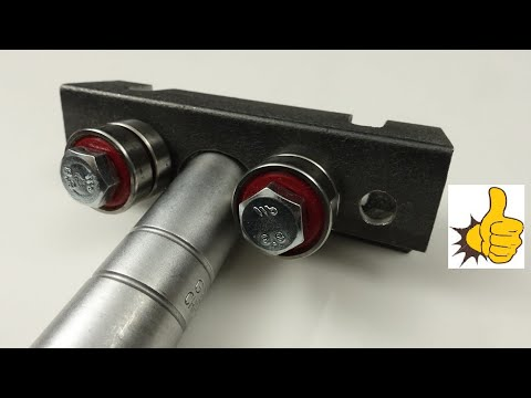Roller Metal Bender. Vice Attachment. Homemade Metal Bender