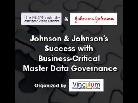 Webinar: Johnson and Johnson's Success With Business-Critical Master Data Governance