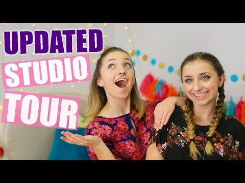 Updated Studio Tour! | Brooklyn and Bailey