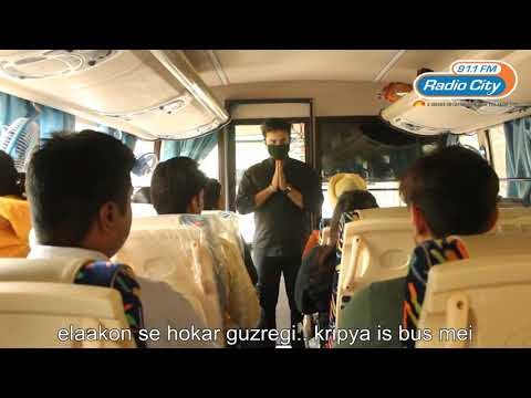 DELHI POLLUTION 2017 - RADIO CITY DISTRIBUTES MASKS